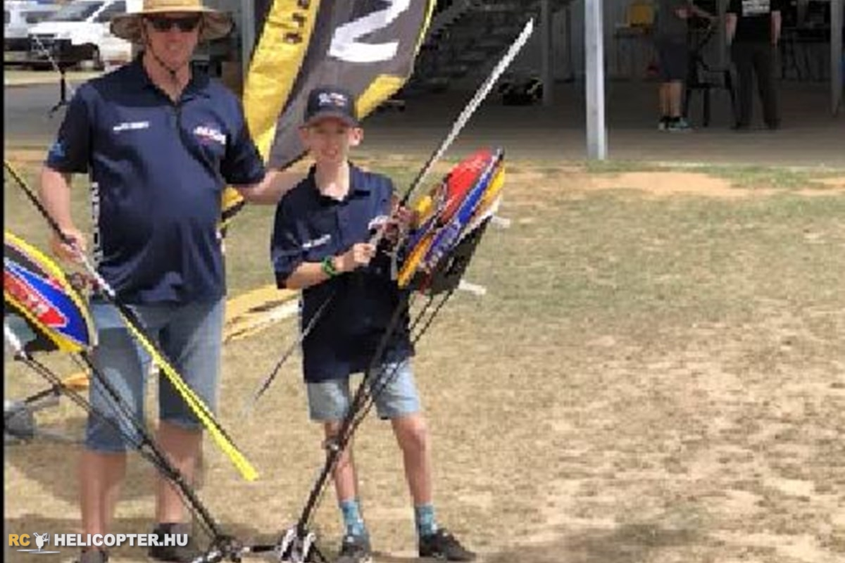 Rhys Wyatt at Heli Heatwave 2019