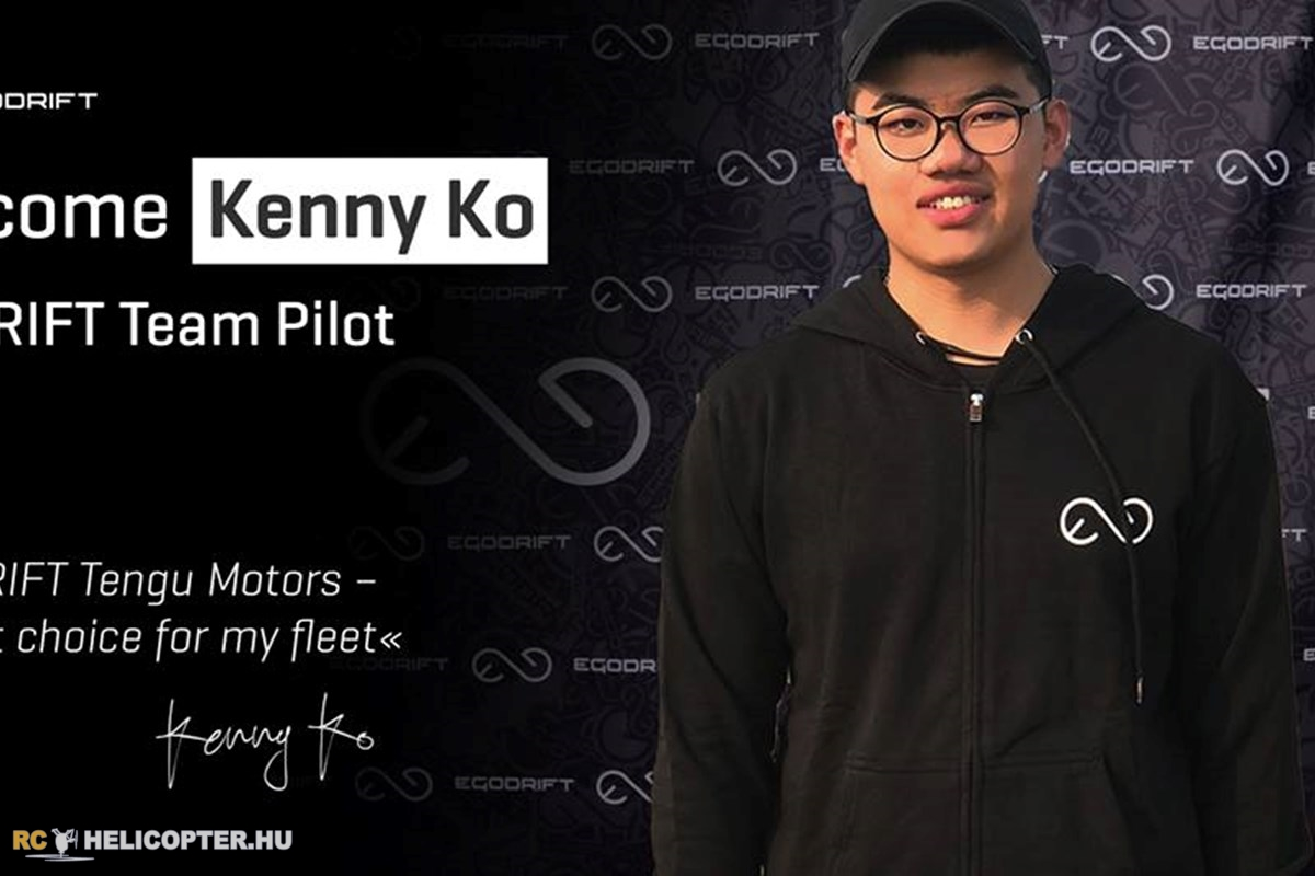 Kenny Ko chooses Egodrift Team