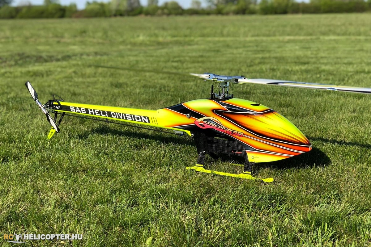 SAB Goblin 630 maiden flight