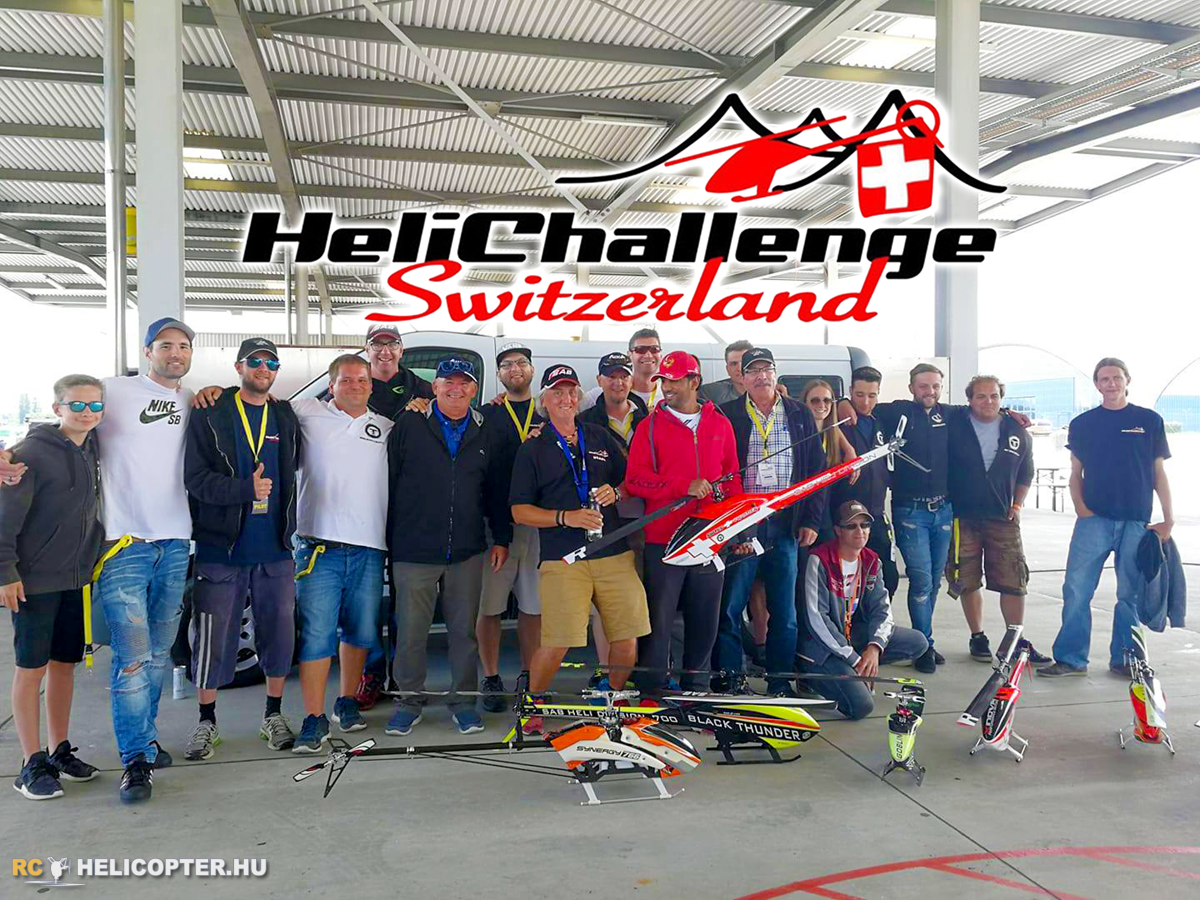 Heli Challenge asks for help