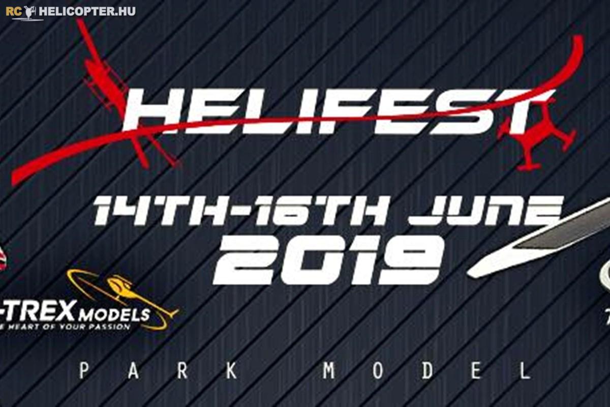 Helifest 2019 - One week to go