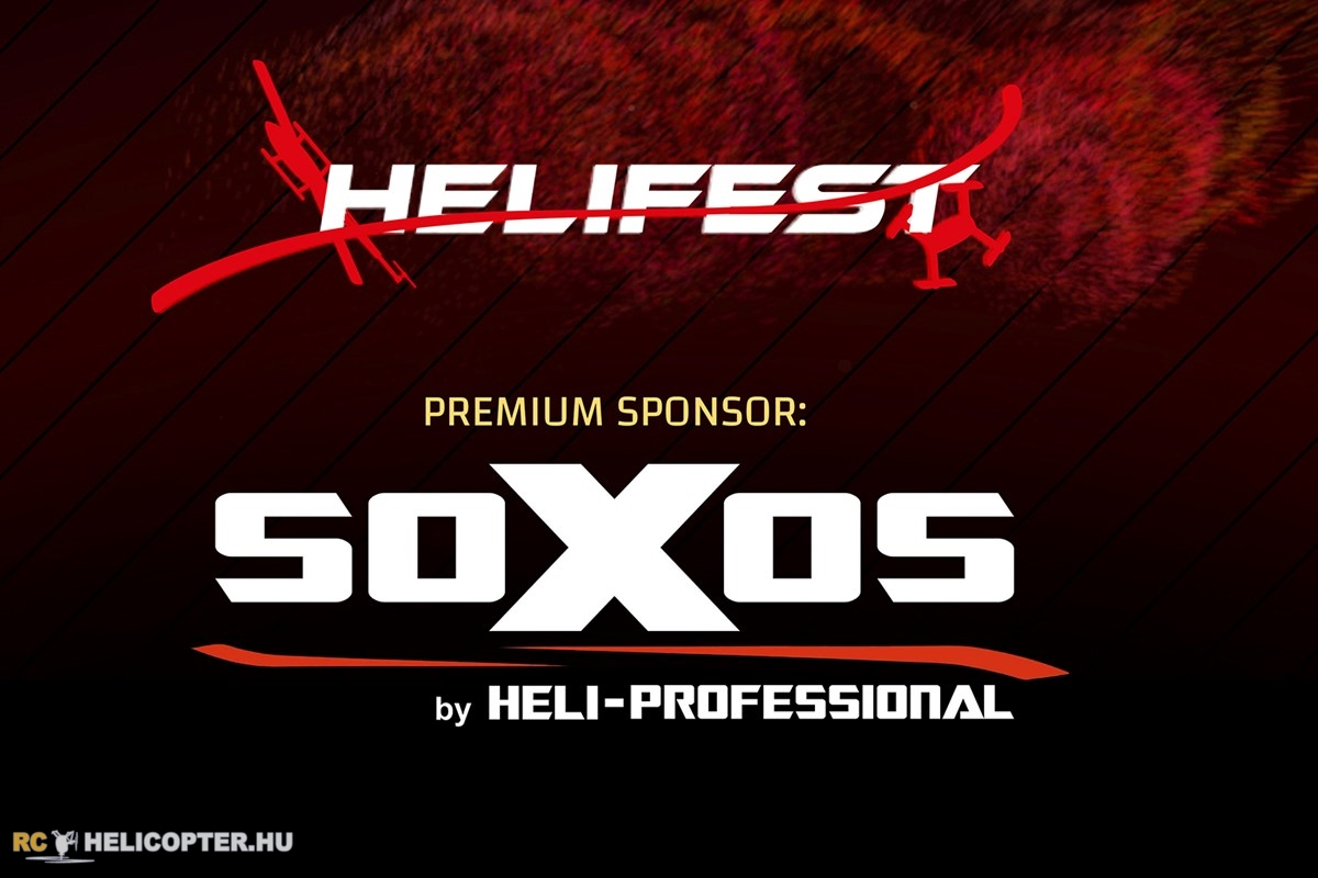 Helifest premium sponsor: soXos by Heli-Professional