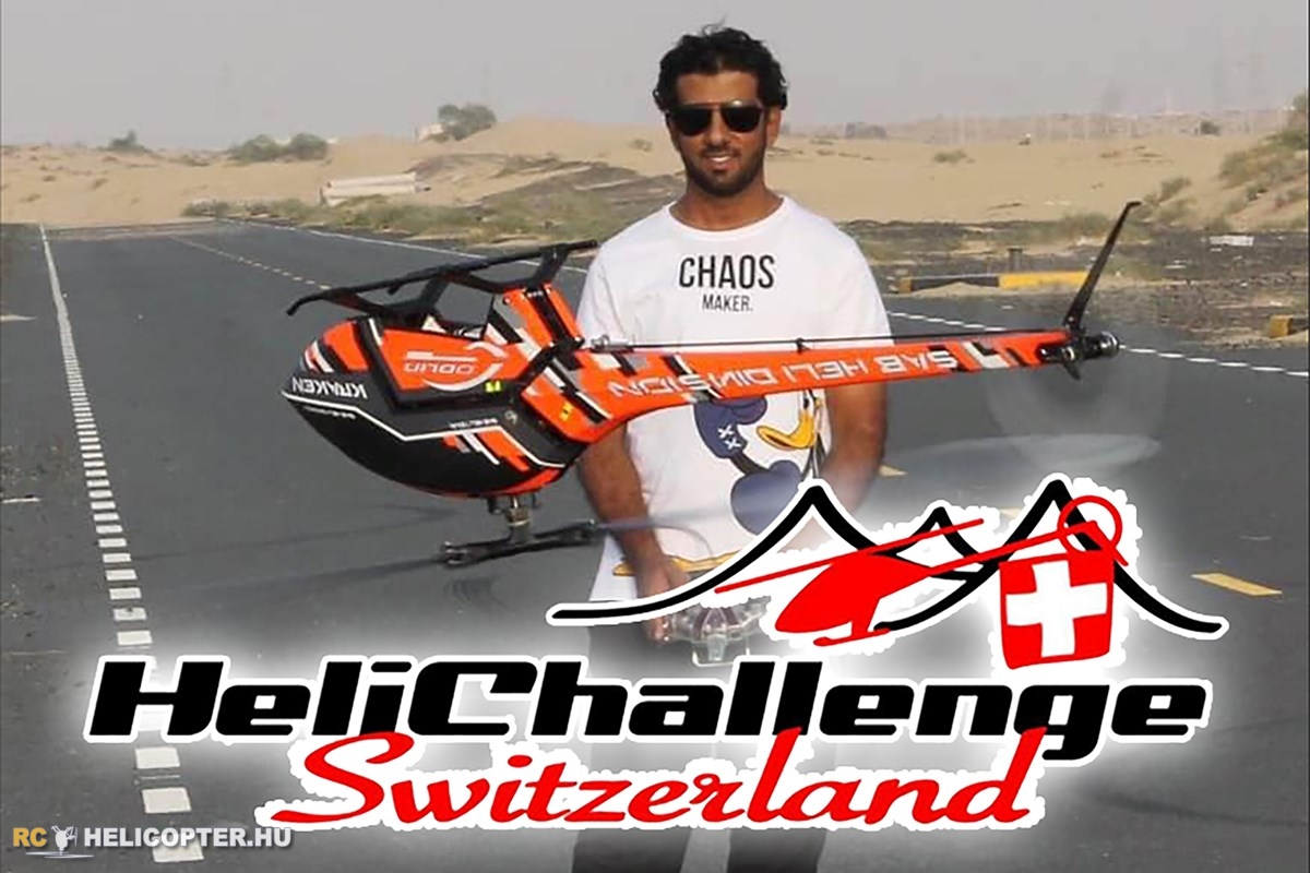 Heli Challenge this weekend