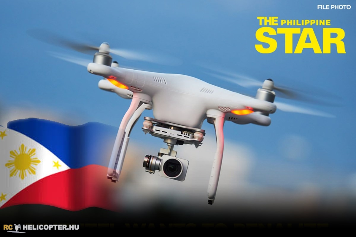 Drone bill filed in Philippines