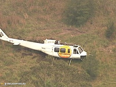 UH-1 crashes in Australia during fire fighting