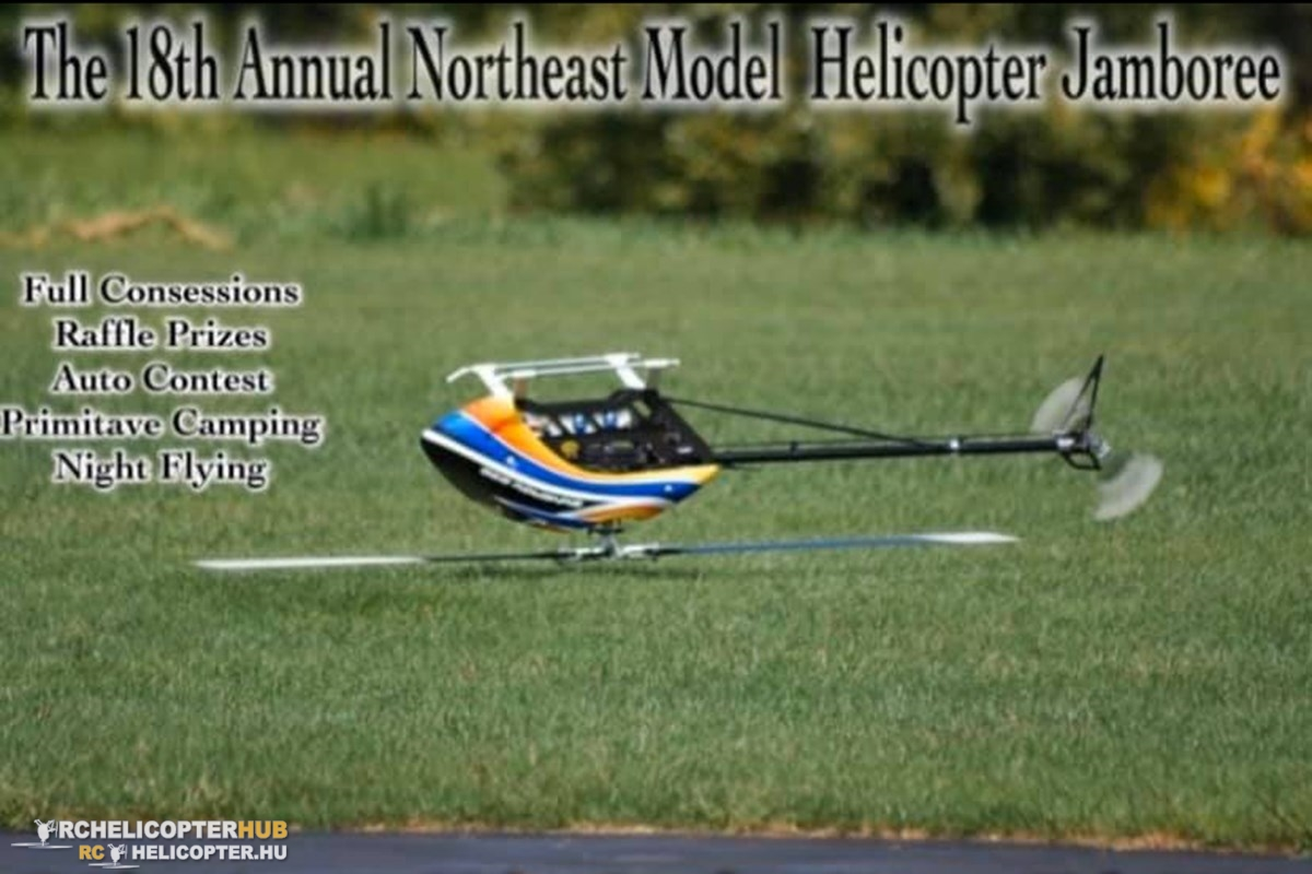 The 18th Annual Northeast Model Helicopter Jamboree