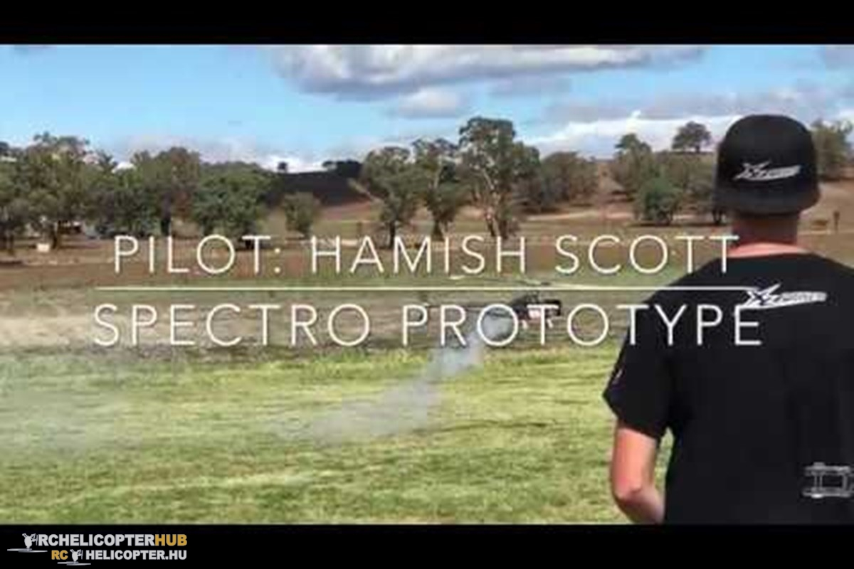 Hamish Scott and the Spectro Prototype