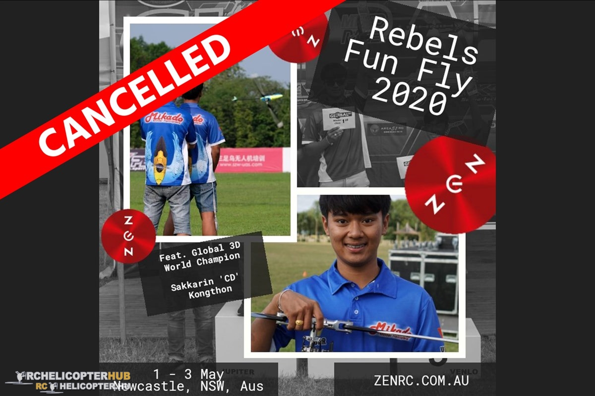CANCELLED: Rebels Fun Fly 2020