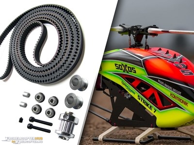 13T tail upgrade kit for Soxos Strike 7