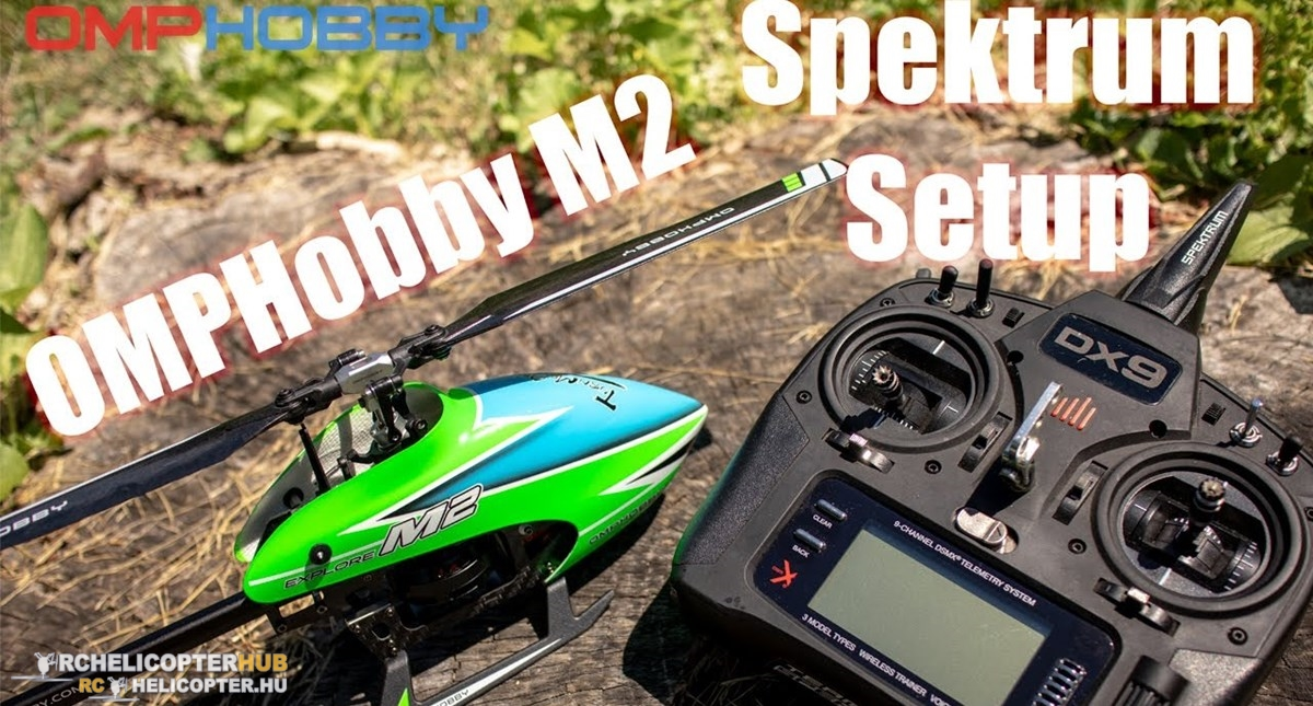 How to bind and setup OMP M2 Explore V2 with Spektrum