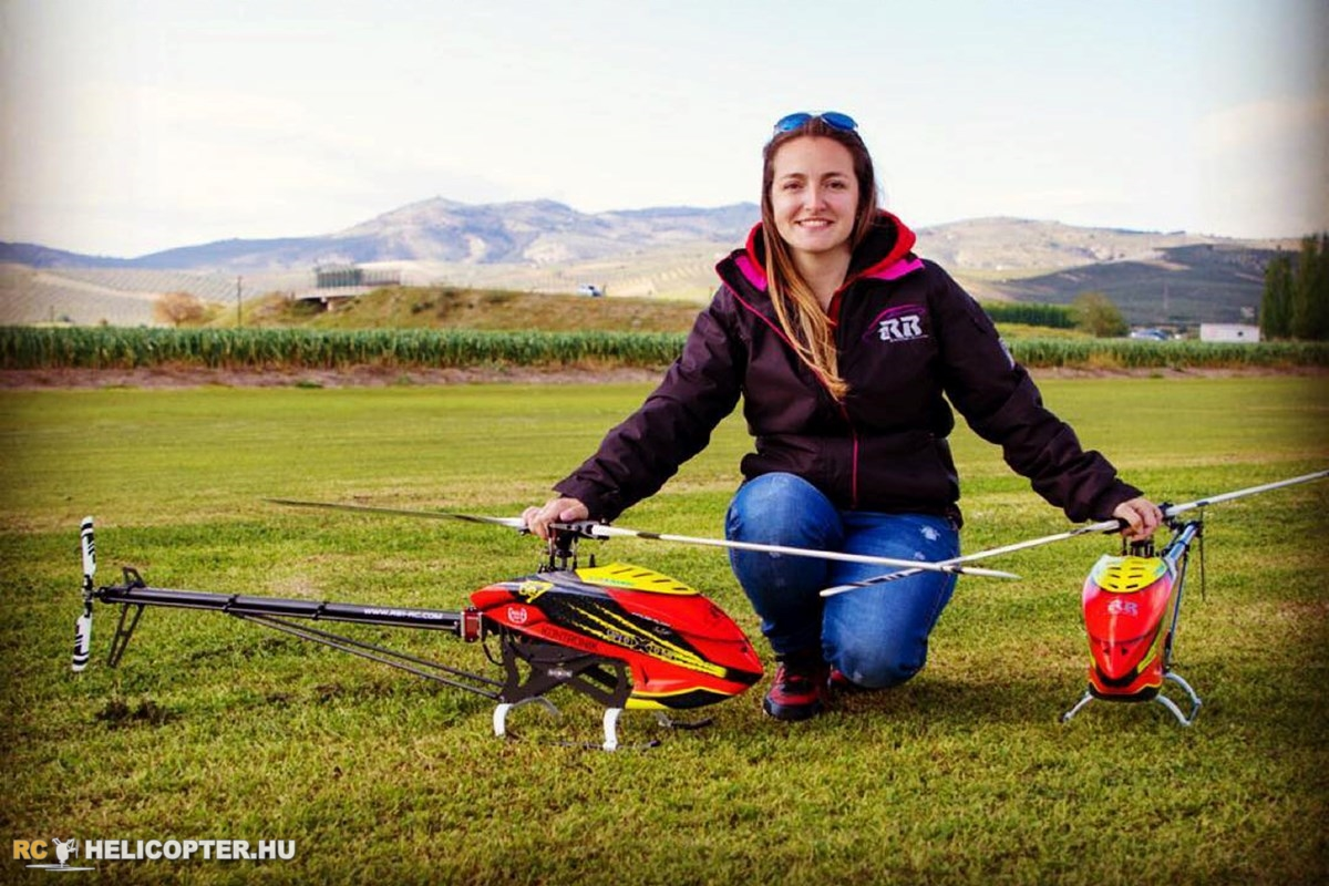 Raquel Bellot attends Helifest UK