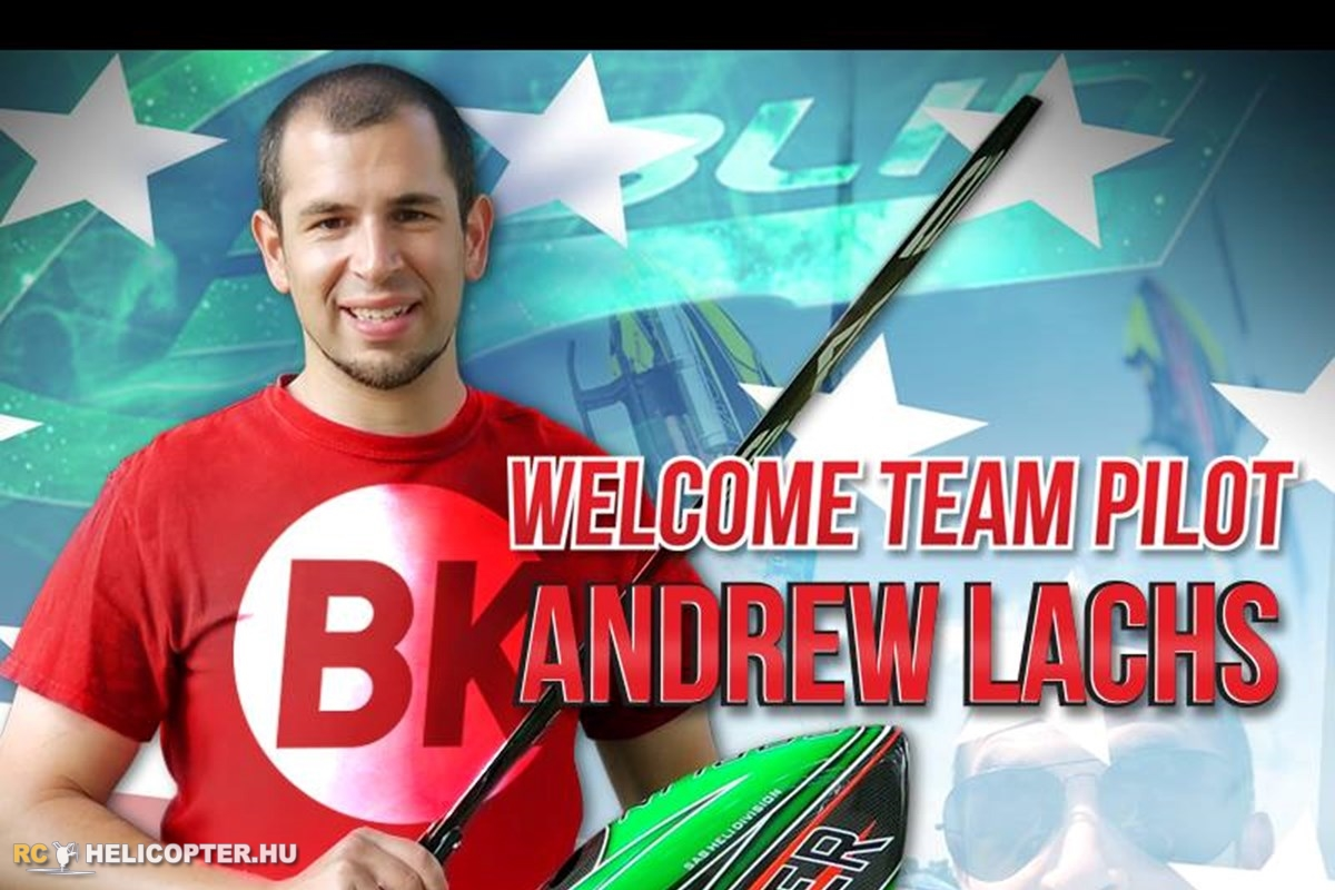 Andrew Lachs joins to BK Team