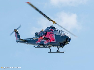 The famous Red Bull Cobra AH-1
