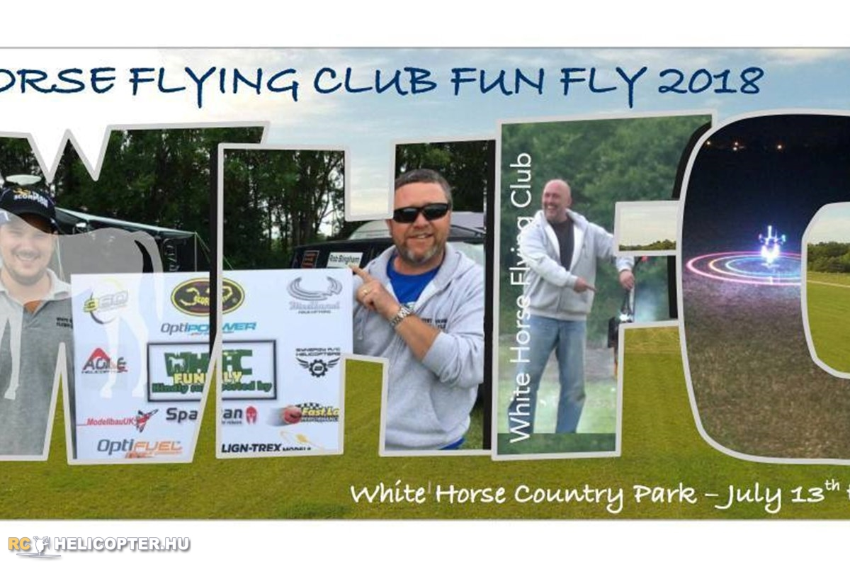 White Horse Flying Club Fun Fly 2018