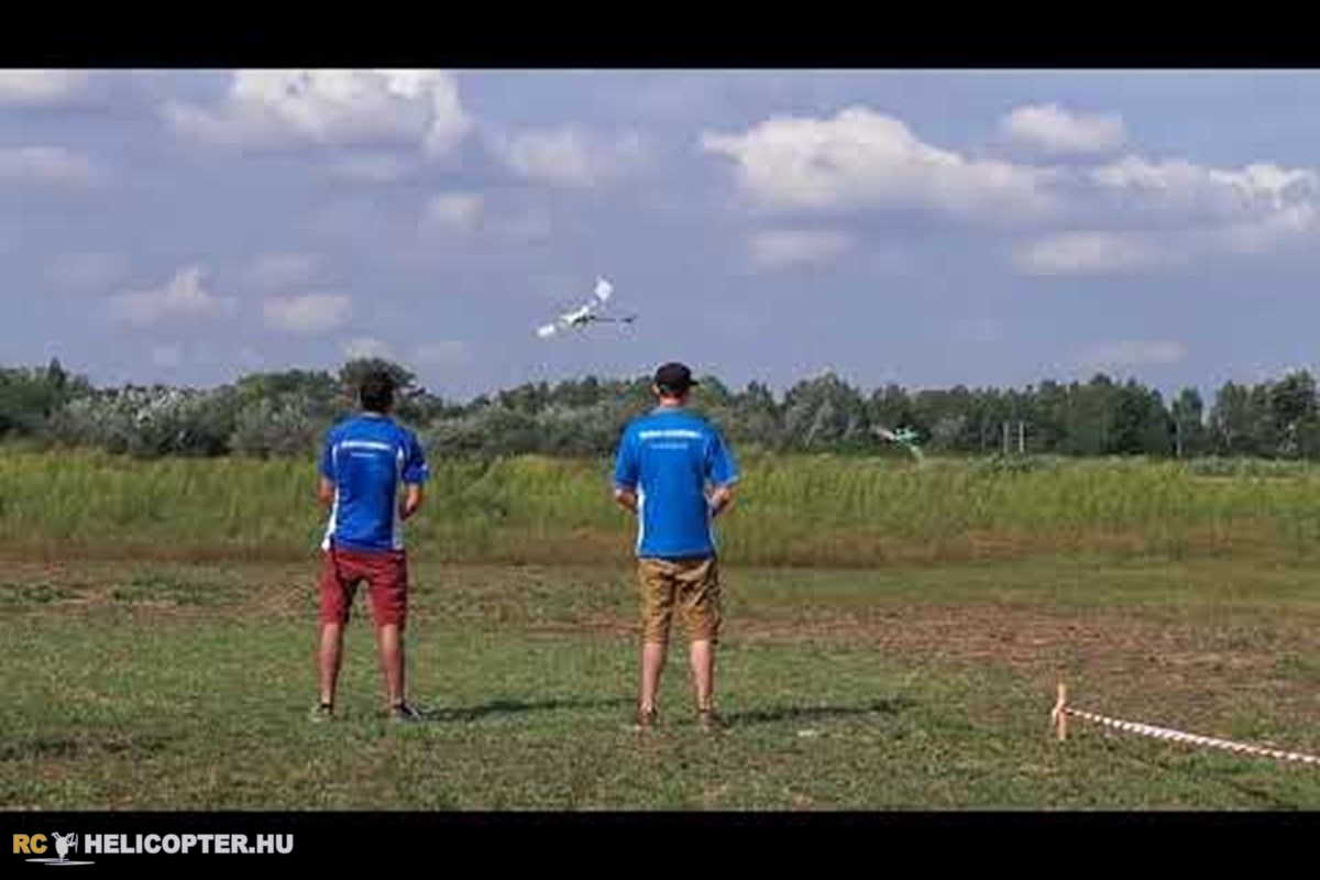 Manuel Madaini and Stefan Finster synchro flight at Heliwood