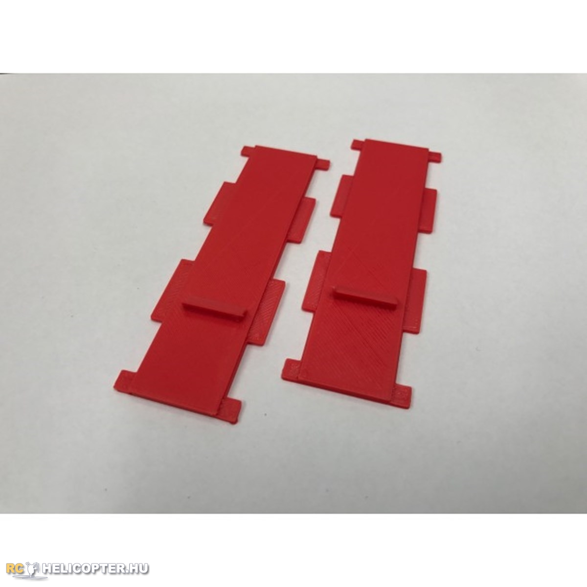 Battery Mount - Red