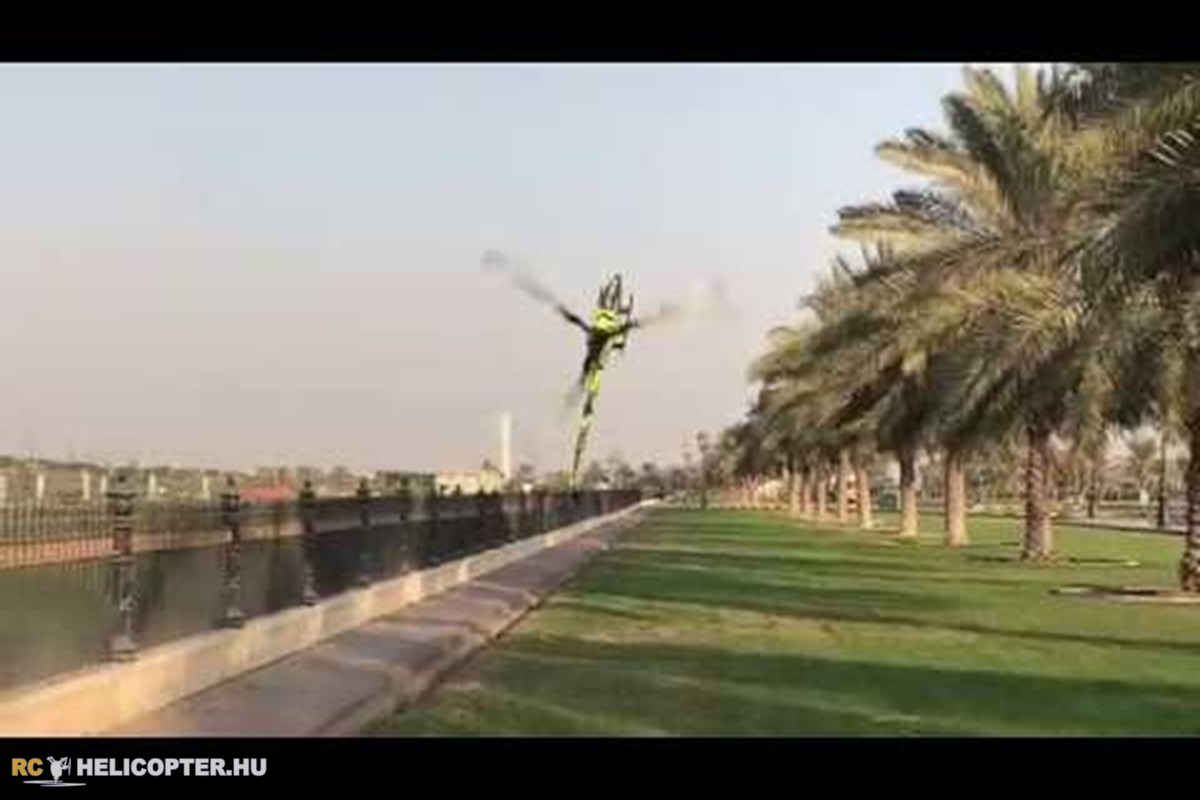 Tareq Alssadi Goblin 700 Sport Havok flying
